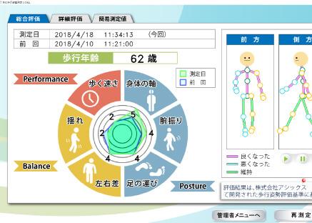 歩行診断システム2